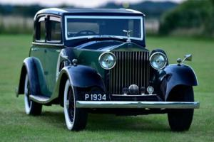 1934 Rolls Royce 20/25 Joseph Cockshoot sports saloon