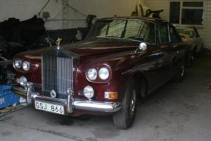 1964 Rolls-Royce Silver Cloud 3 'Chinese Eye' Continental Coupe Barn Find LHD