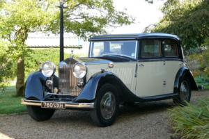 1934 Rolls Royce 20/25 Sports Saloon By Windovers