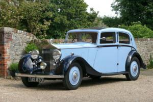 1938 Rolls Royce 25/30 By Park Ward