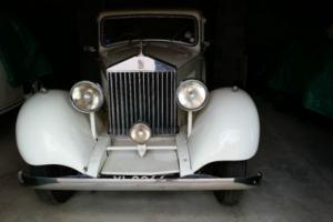 1925 ROLLS ROYCE SPORTS SALOON Photo