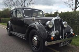 1939 Rover 12 Saloon (Trophy Winning Original) Call 07584903010