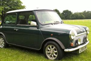 1993 ROVER MINI COOPER 1.3I GREEN/WHITE