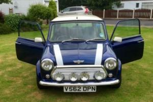1999 ROVER MINI COOPER S WORKS 5 JKD 5 SPEED ONE OF ONLY 30 BUILT TAHITI BLUE Photo