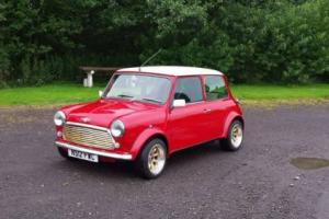 1996 CLASSIC ROVER MINI COOPER 1.3I RED/WHITE SPI LOW MILES