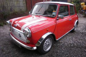 1997 ROVER MINI RED/WHITE1275 COOPER SPECK LEATHER SEATS PRIVATE REG INCLUDED Photo