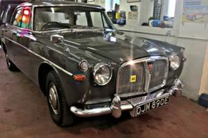 1967 Rover 3 litre P5 Saloon Mk III, Manual/Overdrive/PAS.