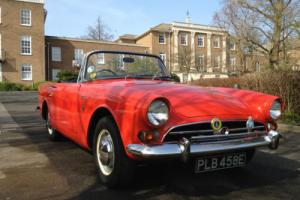 SUNBEAM ALPINE RED