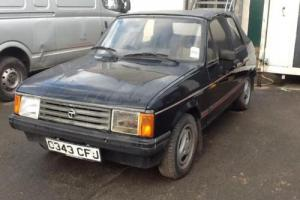 Talbot Samba convertible pininfurina 1985 barn find , very rare only 11 left