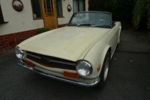Triumph TR6 Left Hand Drive. Photo
