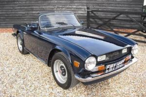 Triumph TR6 UK 150hp Car