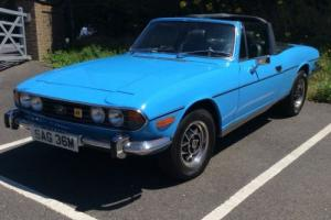 TRIUMPH STAG ORIGINAL V8 ENGINE SPECIFICATION MANUAL OVERDRIVE SOFTOP ONLY Photo