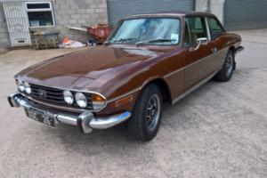 1971 Triumph Stag, 3L V8 Manual/Overdrive, Hardtop, 12M MOT, Great opportunity!