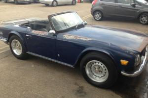 triumph tr6 sports californian project..... Photo