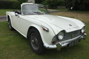 1967 TRIUMPH TR4A, OVERDRIVE, WIRES, ORIGINAL UK CAR+DRIVES SUPERBLY+MOT 06/17 Photo
