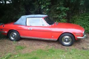 TRIUMPH STAG , 1972, ORIGINAL 3.LTR V8 ENGINE, MANUAL WITH OVERDRIVE. Photo