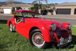 1954 Triumph TR2 Roadster Complete With Hard Top {053693} Photo