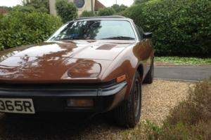 TRIUMPH TR7 1977 BROWN MOT VGC Photo