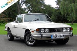 TRIUMPH STAG Mark 2, White, Manual, Petrol, 1976
