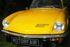 1979 Triumph Spitfire 1500cc Overdrive, Photographic body off restoration