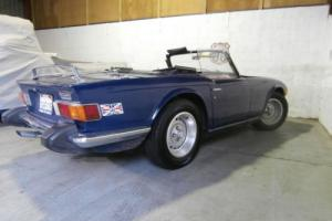 Triumph TR6 LHD Dry State Import - Runs and drives - Free UK Delivery