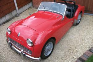 Triumph TR3, Desirable 1959 Model, MOT & Tax Exempt, Chrome Bumper, Wire Wheels Photo