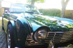 1963 TRIUMPH TR4 MUST NOW BE SOLD!!!