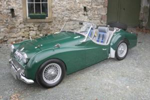 1960 TRIUMPH TR3a GREEN Photo