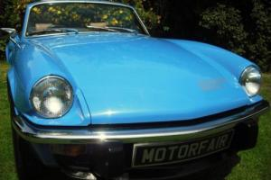 1979 TRIUMPH SPITFIRE 1500cc PAGEANT BLUE 3 OWNERS LAST OWNER SINCE 1982