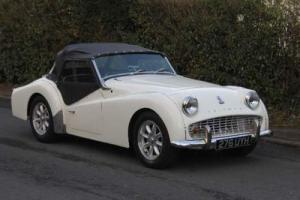 1962 TRIUMPH TR3 A Photo