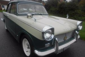 1964 Triumph HERALD 12/50 only 27,800 miles In Beautiful Condition..MAY 2017 MOT