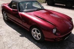 1993 TVR Chimaera 4.3 Manual 5 Speed Petrol Convertible in Metallic Burgundy