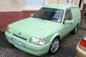Ford Escort Van, Mk4, 1990, G-reg, 1.8td, Motd, Custom Paint, RS Turbo Parts.