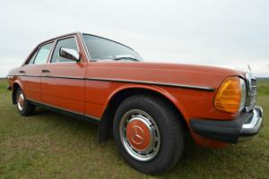 1982 Mercedes 200 W123 now with 12 months MOT