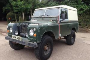 1970 'H' Land Rover Series 2a SWB 2.25 petrol Px possible