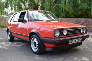 VW GOLF MK2 GTI 1.8 8V 1985 5DR RED TYPE 19 MODEL