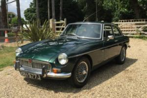 MGB GT 1970 British Racing Green, Wire Wheels, New Mot, Good Condition