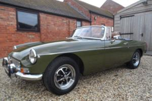 MGB ROADSTER 1974 2 KEEPERS 54K MILES, SERVICE HIST. STUNNING CONDITION CAR.
