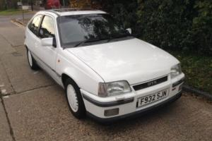 1989 VAUXHALL ASTRA GTE 16V....RARE INVESTMENT OPPORTUNITY