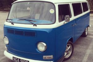 vw late bay window camper t2