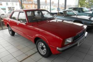 Ford Cortina L 1.6, 1979, Red