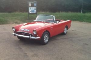 Sunbeam Alpine Tourer 1964 Series 4 1592 cc Classic Car