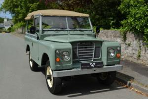 """Land Rover Series 3 88"""" 1980 Pastel Green !!SOLD MORE REQUIRED!!"""