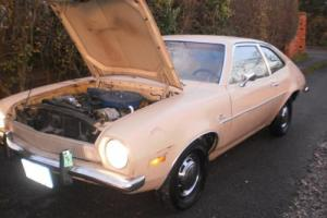 USA FORD PINTO 2 LITRE AUTO CALIFORNIA IMPORT