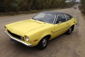 USA FORD PINTO 2 LITRE MANUAL CALIFORNIA IMPORT