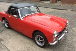 MG Midget rare Round Wheel Arch 1275 A series.
