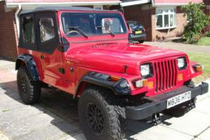 !!STUNNING 1995 JEEP WRANGLER YJ FULL BODY RESTORATION AND BRAND NEW SOFT TOP!!!