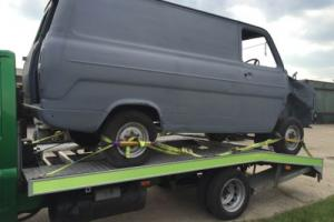 ford transit mk2 early , with rare 6 stud axles project , panel van
