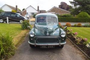 classic morris minor 1954 4 door 803cc