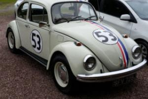 VW Beetle Herbie 1970 - 71000 miles - MOT - Fully restored